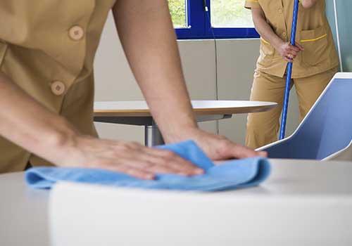 calidad de limpieza